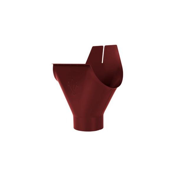Воронка желоба d90/125мм-d100/150мм Красный