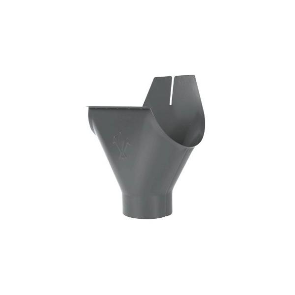 Воронка желоба d90/125мм-d100/150мм Серый