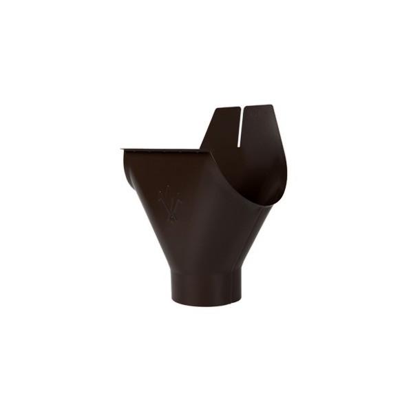 Воронка желоба d90/125мм-d100/150мм Тёмно-коричневый