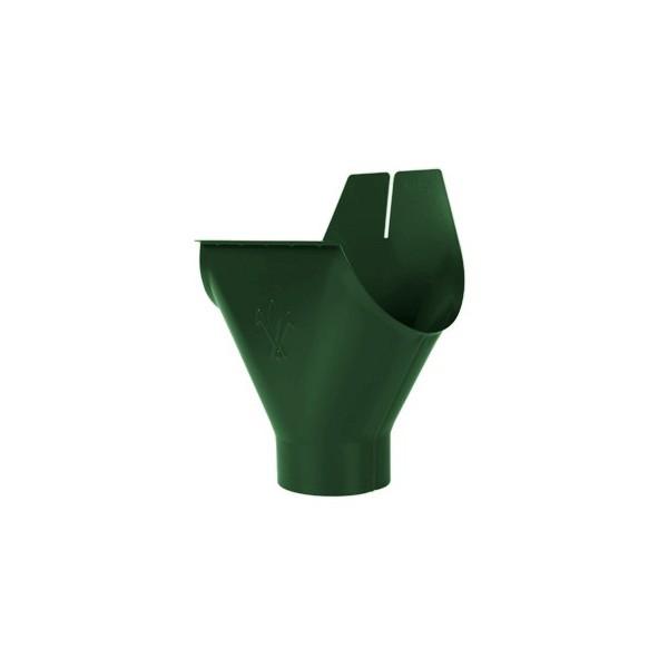 Воронка желоба d90/125мм-d100/150мм Зелёный