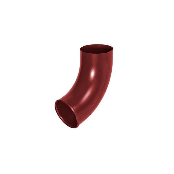 Отвод трубы d90мм-d100мм Красный