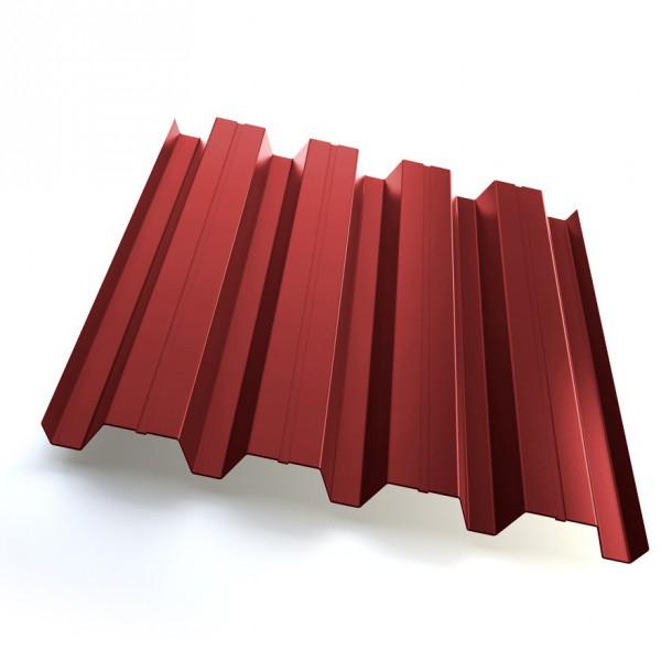 Профнастил Grand Line H60 Полиэстер 25мкм Красный