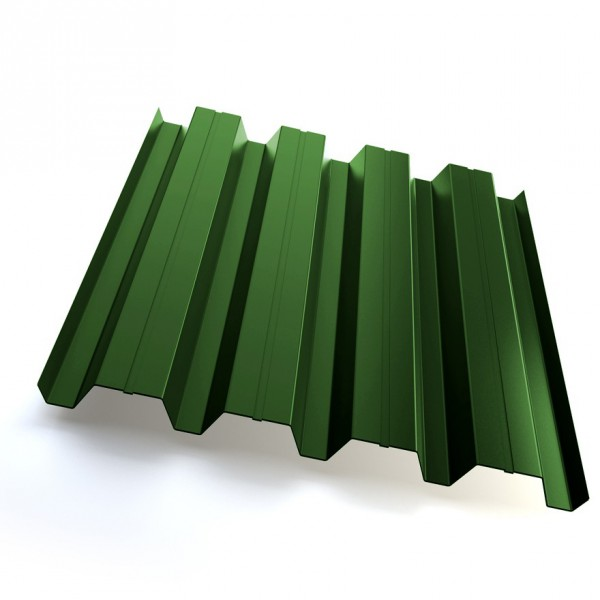 Профнастил Grand Line H60 Полиэстер 25мкм Зелёный