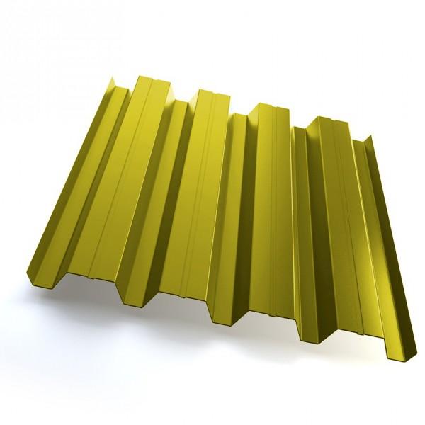 Профнастил Grand Line H60 Полиэстер 25мкм Жёлтый