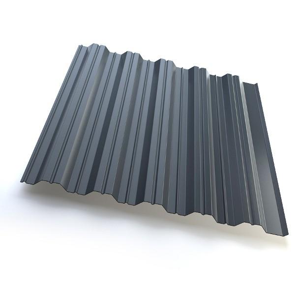 Профнастил GrandLine HC35 Полиэстер 25мкм Серый