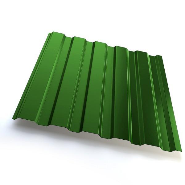 Профнастил GrandLine С20 Полиэстер 25мкм Зелёный