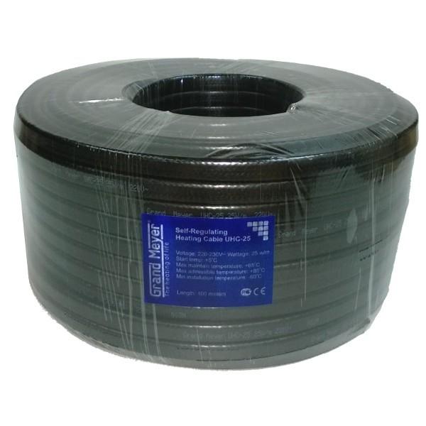 Саморегулирующийся кабель Grand Meyer UHC-25
