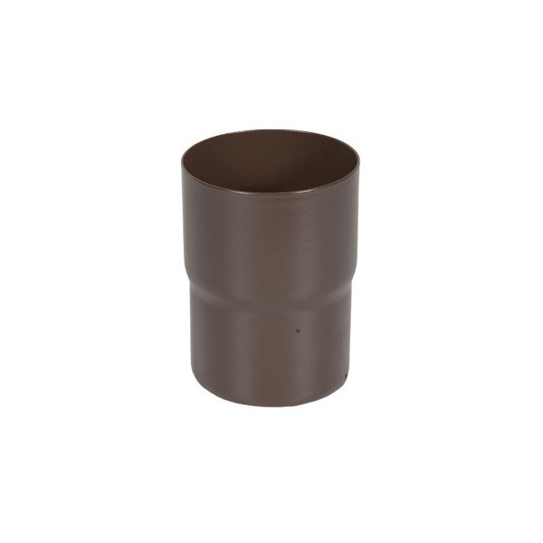 Соединитель трубы d90мм-d100мм Коричневый