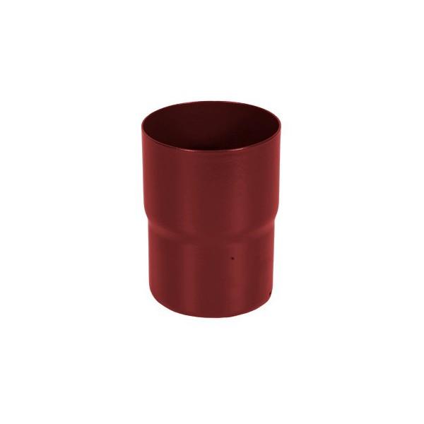 Соединитель трубы d90мм-d100мм Красный