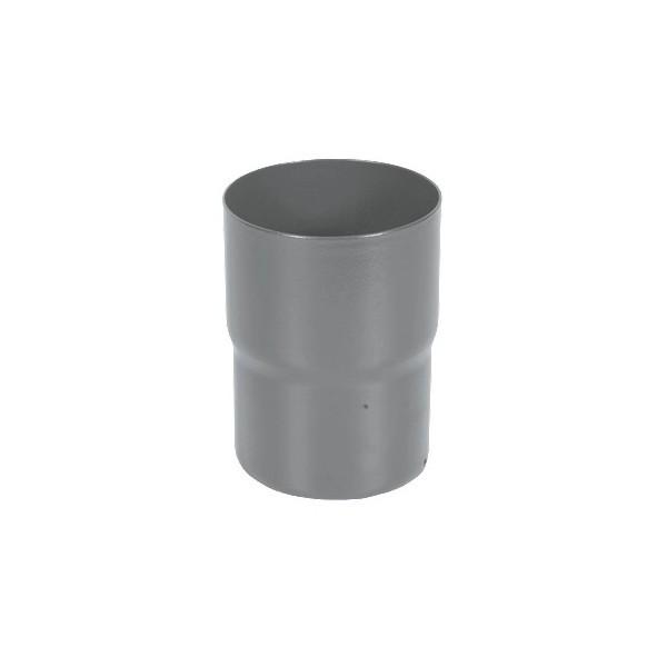 Соединитель трубы d90мм-d100мм Серый