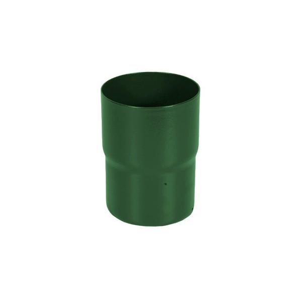 Соединитель трубы d90мм-d100мм Зелёный