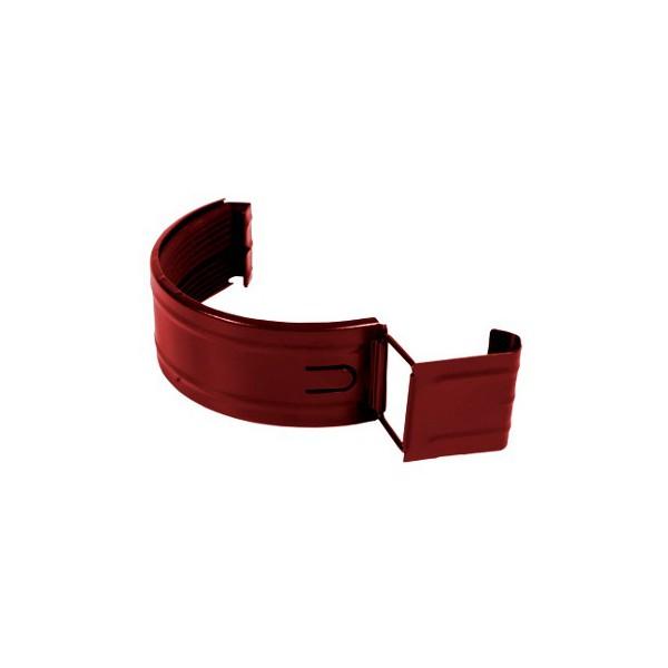 Соединитель желоба с уплотнителем d125мм-d150мм Красный