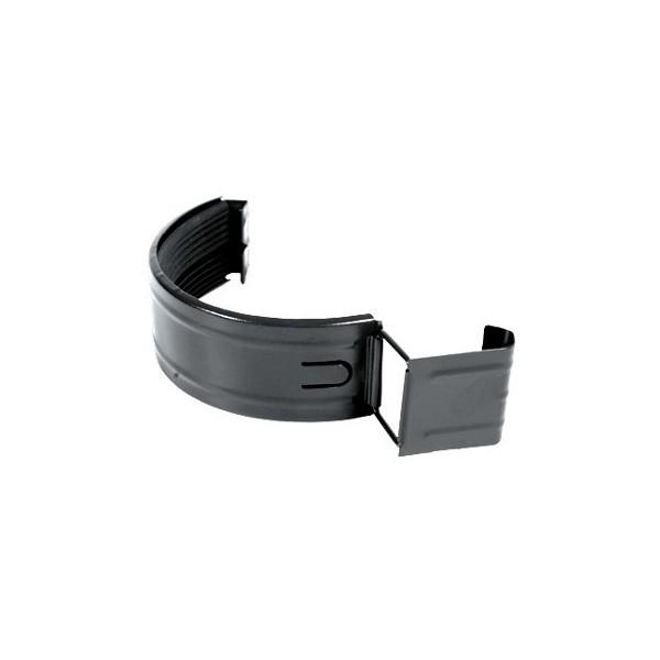 Соединитель желоба с уплотнителем d125мм-d150мм Серый