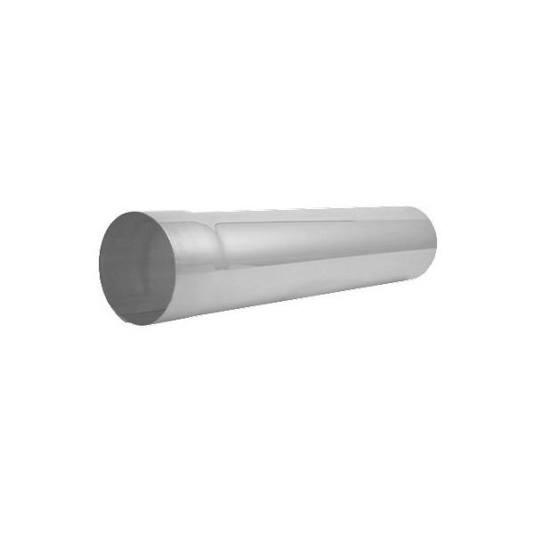 Соединительная труба 1 метр d90мм-d100мм Белый