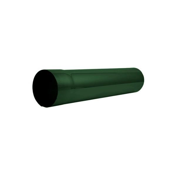 Соединительная труба 1 метр d90мм-d100мм Зелёный