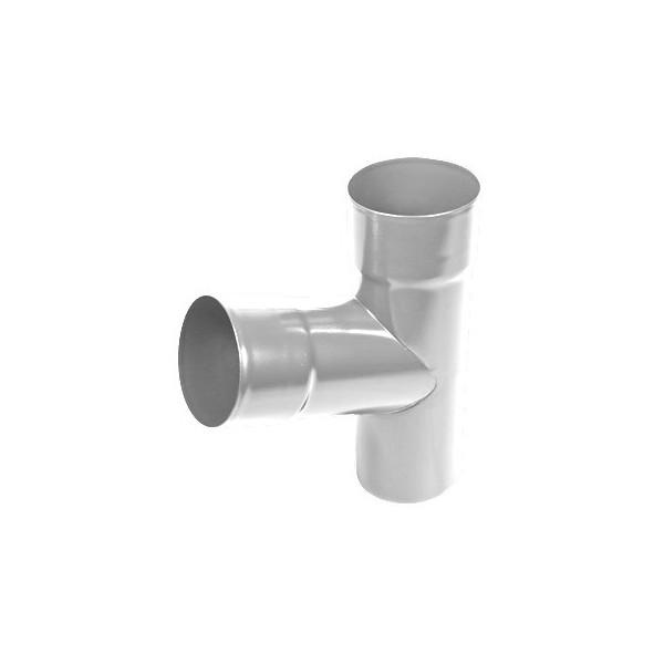 Тройник трубы d90-d100 Белый