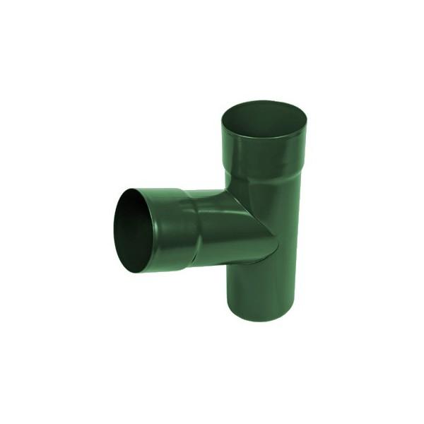 Тройник трубы d90-d100 Зелёный