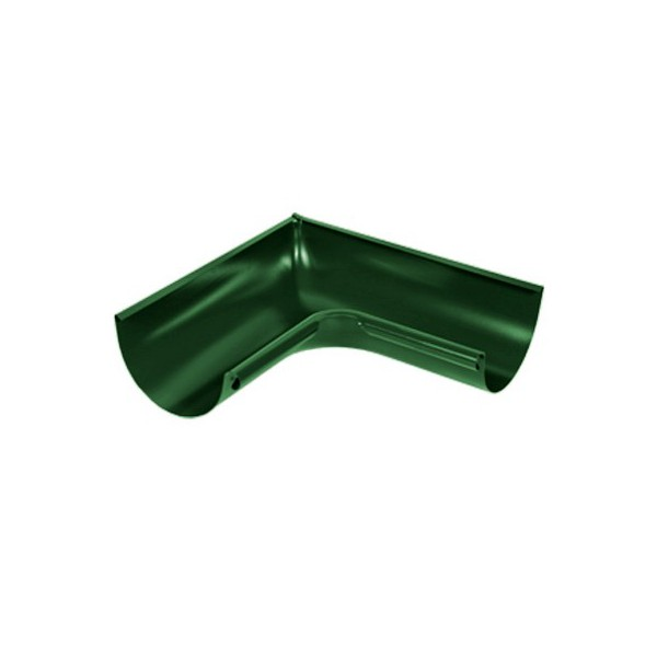 Угол желоба внутренний 135 градусов d125мм-d150мм Зелёный