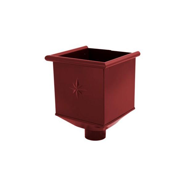 Водосборная воронка d90мм-d100мм Серый Красный