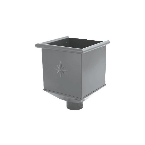 Водосборная воронка d90мм-d100мм Серый