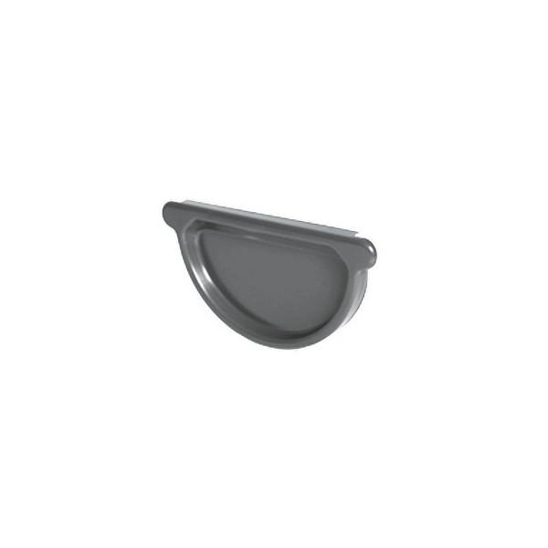 Заглушка желоба универсальная d125мм-d150мм Серый