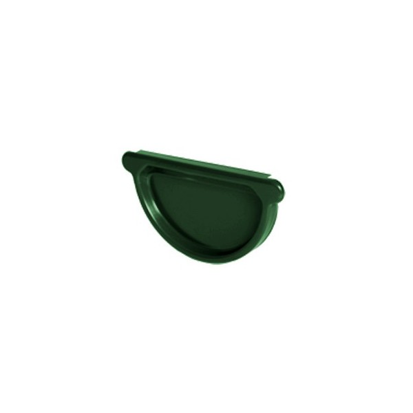 Заглушка желоба универсальная d125мм-d150мм Зелёный