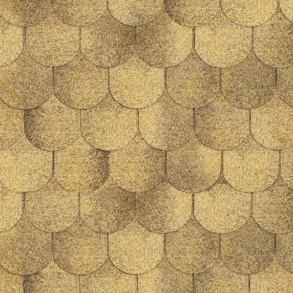 Гибкая черепица Ruflex Ornami Песчаный Берег