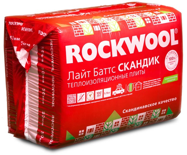 Утеплитель Rockwool для дома