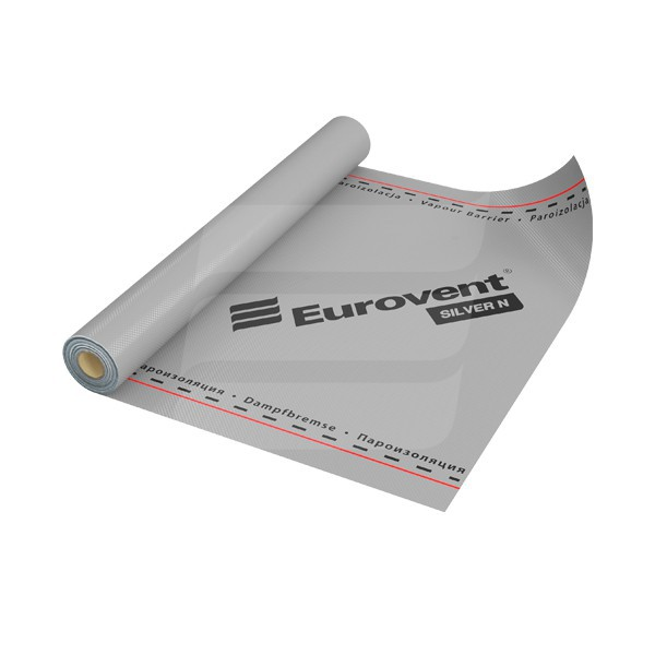 Пароизоляционная пленка Eurovent SILVER N96