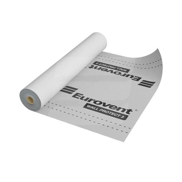 Ветроизоляционная мембрана Eurovent WALL PROTECT 3