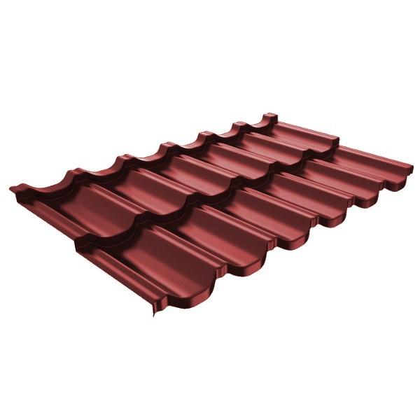 Металлочерепица Ruukki Finnera Purex 0,5мм Red