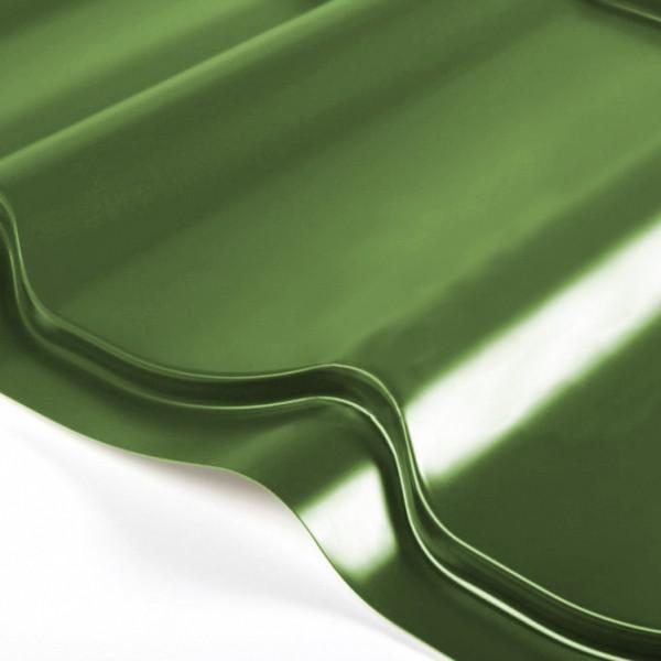Металлочерепица Grand Line Classic PE 0.5 Зелёная хвойя