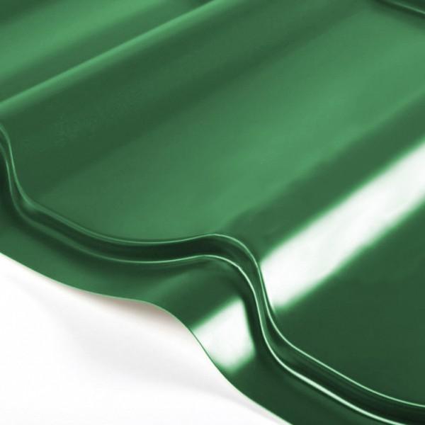 Металлочерепица Grand Line Classic PE 0.5 Зелёный мох