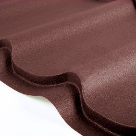 Металлочерепица Grand Line Classic Velur 0.5 Шоколад
