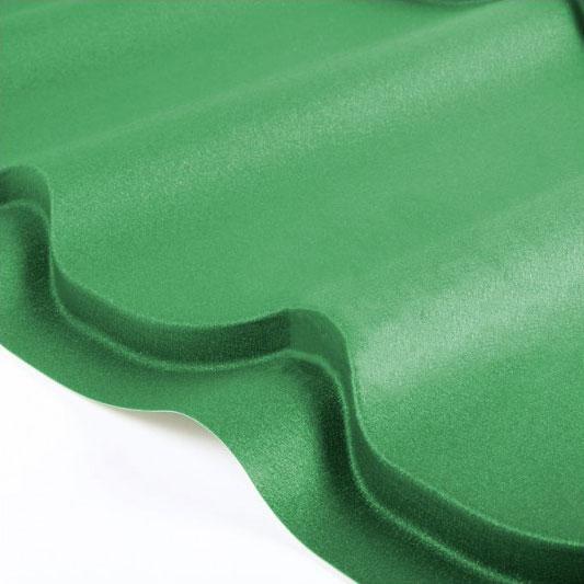 Металлочерепица Grand Line Classic Velur 0.5 Зелёный мох