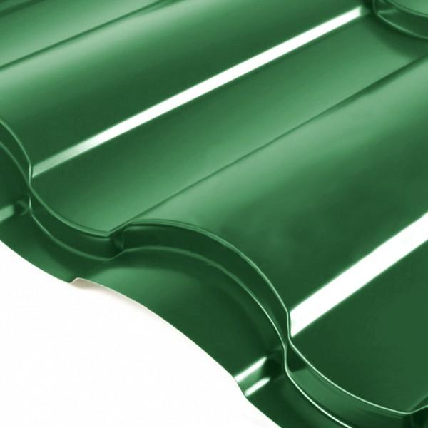 Металлочерепица Grand Line Country PE 0.5 Зелёный мох
