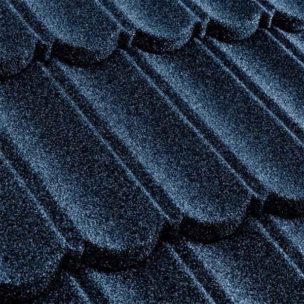 Композитная черепица Metrotile MetroBond Тёмно-синий
