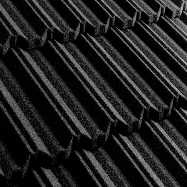 Композитная черепица Metrotile MetroClassic Чёрный
