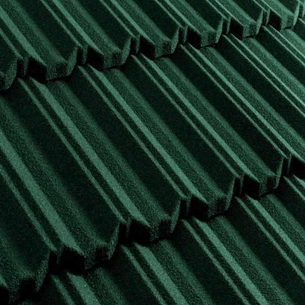 Композитная черепица Metrotile MetroClassic Тёмно-зелёный