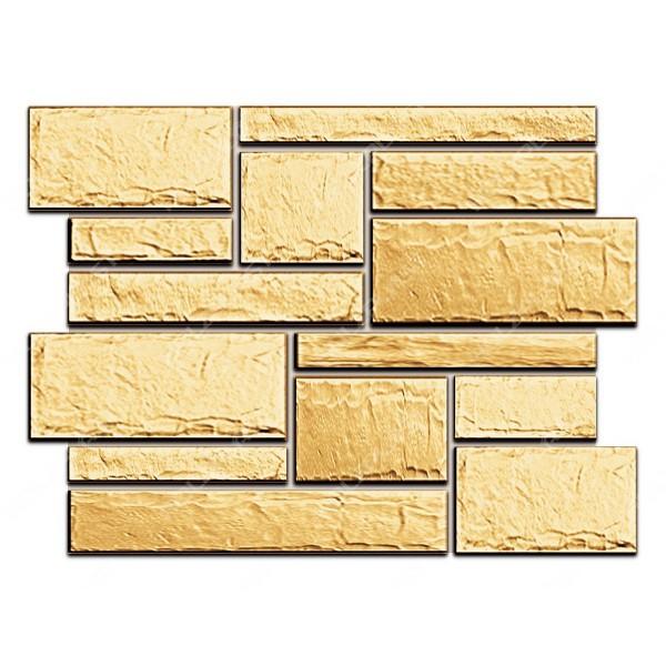 Фасадная панель Holzplast Wandstein Бут Песочный