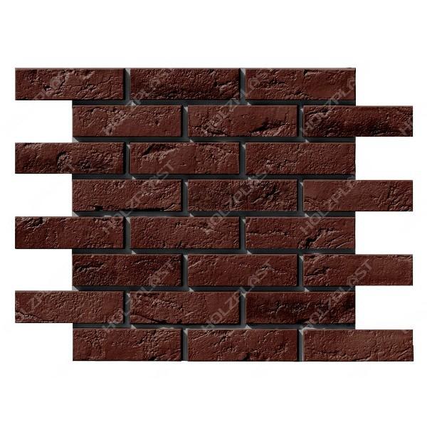 Фасадная панель Holzplast Wandstein Кирпич Тёмно-коричневый