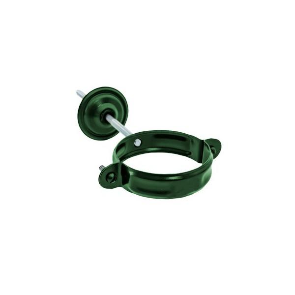 Хомут для крепления трубы d90мм-d100мм Зелёный