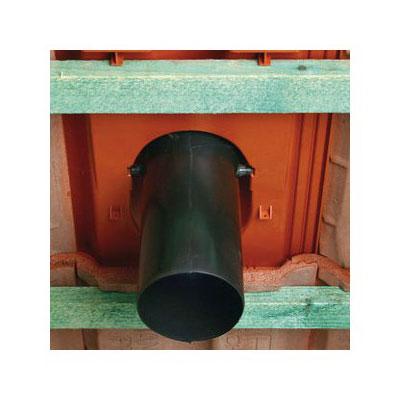 Комплект Braas для подключения вентиляционных стояков