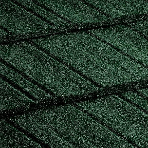 Композитная черепица Metrotile MetroShake Тёмно-зелёный