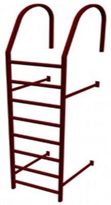 Кровельная лестница /стеновая/ 1.75 метра