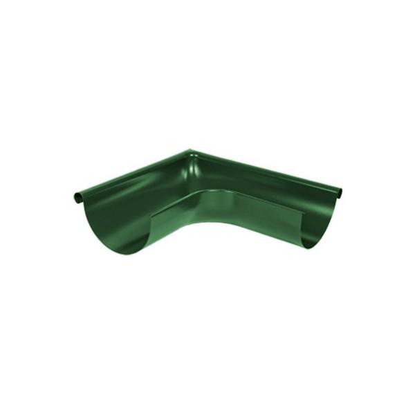 Угол желоба наружный 135 градусов d125мм-d150мм Зелёный