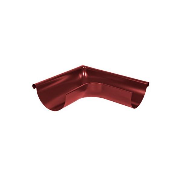 Угол желоба наружный 90 градусов d125мм-d150мм Красный