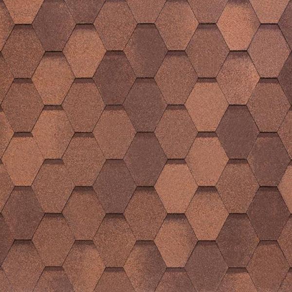 NOBIL TILE Вест Красно-коричневый