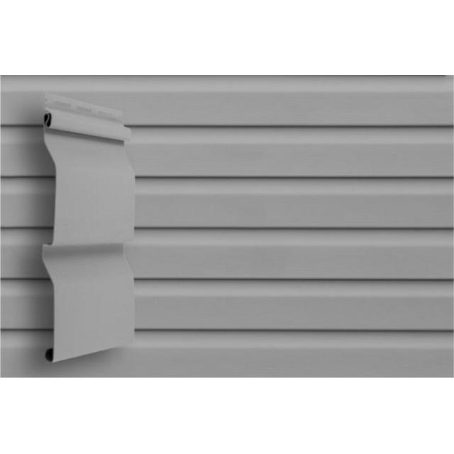 Сайдинг виниловый Grand Line D4 GL Amerika Серый