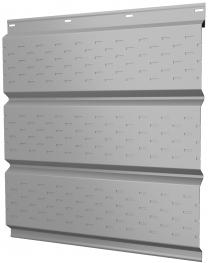 Софиты металлические Grand Line с полной перфорацией покрытие Полиэстер белые RAL 9003